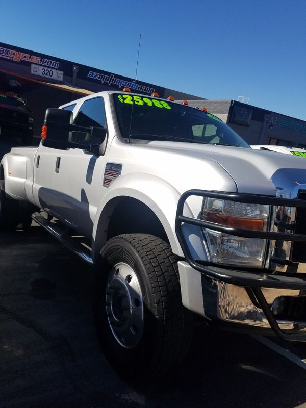 2008 Ford F450 Lariat four-wheel drive