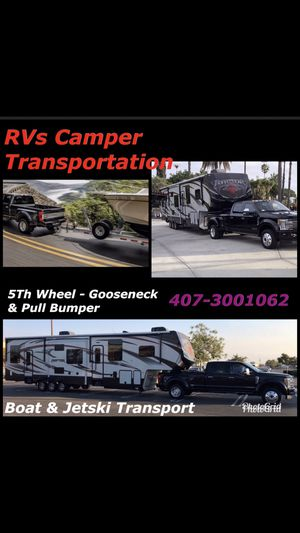 Rv/Camper Transsportation for Sale in Orlando, FL