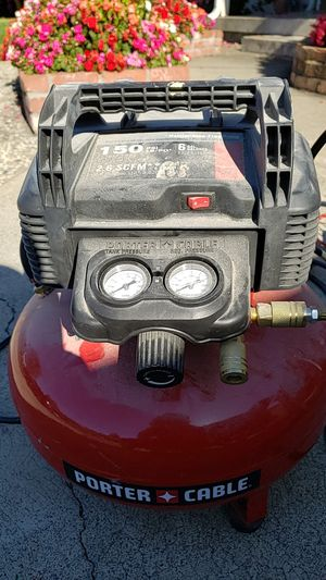 Porter Cable 6 Gal air compressor for Sale in Hayward, CA