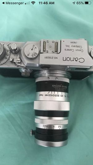 Mint Canon Camera M39 with Lens for Sale in Chandler, AZ