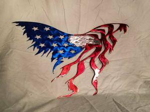 Eagle Metal Flag for Sale in Roseville, CA