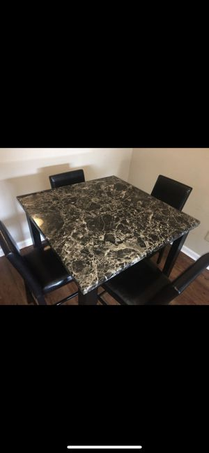 Faux marble table for Sale in Columbus, OH