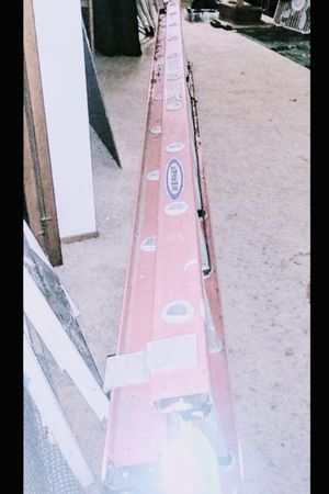 24ft. Fiberglass Werner extension ladder type 1 A for Sale in Tacoma, WA