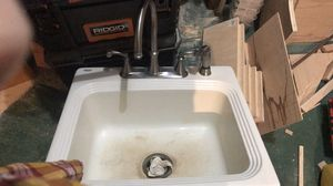 Sink with faucet for Sale in Lumberton, NJ