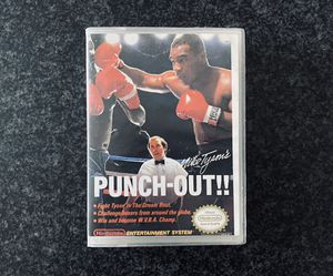 Mike Tyson's Punch-Out (Nintendo Entertainment System 1987) for Sale in Las Vegas, NV