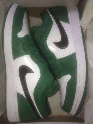 Mens Jordan 1 Low Pine Green Size 12 Brand New for Sale in Queens, NY