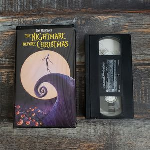 The Nightmare Before Christmas Tim Burton (VHS, 1994) for Sale in Las Vegas, NV