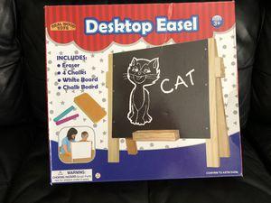 Kids desk top easel whiteboard and chalkboard for Sale in Winter Haven, FL