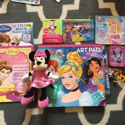 Disney & Disney Princess & Mini Mouse Bundle for Sale in East Brunswick,  NJ
