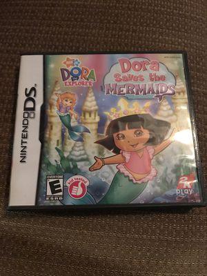 "Nintendo DS Dora the Explorer ""Dora Saves the Mermaids"" Video game for Sale in San Antonio, TX"