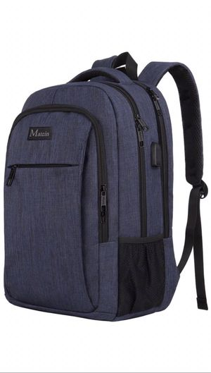 "Matein 15.6"" Laptop Backpack, Blue for Sale in Kansas City, MO"