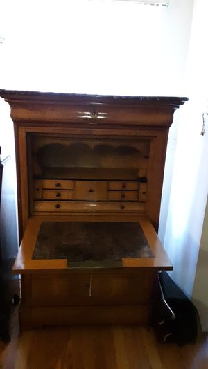 Antique secretary desk/ gentleman's chest for Sale in Pasadena, CA
