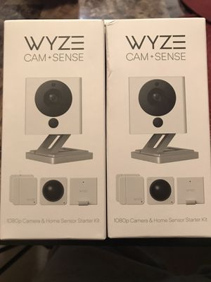 Wyze cam+sense for Sale in Phoenix, AZ