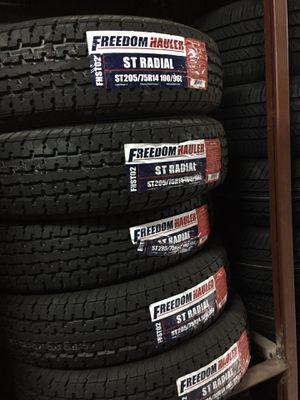 St205/75/14 trailer tires for Sale in Arlington, TX
