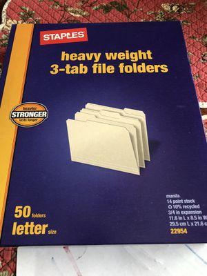 Brand new box of file folders for Sale in Orlando, FL