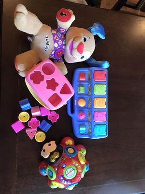 Baby toy lot fisher price playskool vtech for Sale in Clovis, CA