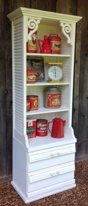 """""""Shabby Chic"""" Vintage Style Shelf with 2 Drawers for Sale in Hillsboro, OR"""