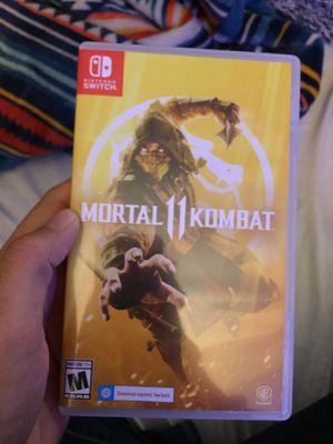 Mortal Kombat 11 nintendo switch for Sale in Glendale, AZ