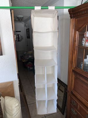 Hanging Closet Organizer with 9 Compartments for Sale in Miami, FL