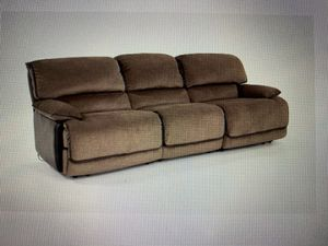 Triple Power Reclining Sofa for Sale in Bethel, CT