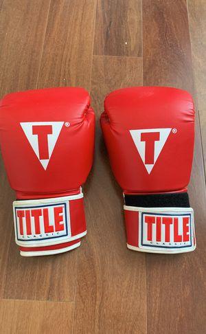 14oz boxing gloves for Sale in Laguna Niguel, CA