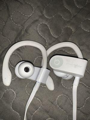 Beats Powerbeats3 Bluetooth Wireless In-Ear Earphones with Mic - White for Sale in Menlo Park, CA