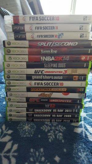 Xbox 360 and ps3 games for sale or trade for Sale in Portland, OR