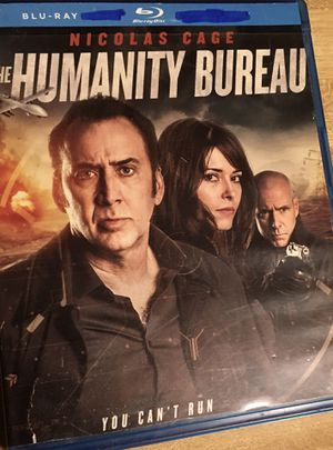 NEW 1 Blue Ray dvd movie The Humanity Bureau With Nicolas Cage Never used! for Sale in Crestview, FL