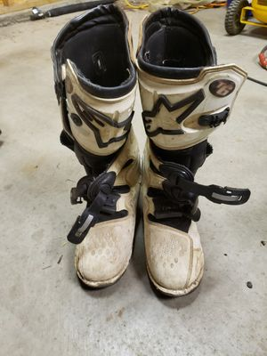 Alpinestar motorcycle boots for Sale in Buckley, WA