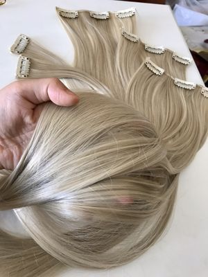 "26"" 16 Clips hair extension clip in for Sale in Elizabethtown, KY"