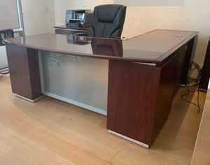 Gorgeous Executive Desk and Credenzas for Sale in Beverly Hills, CA