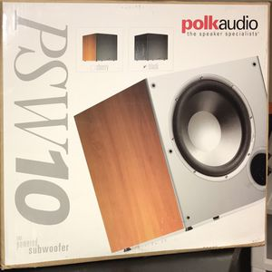 """Polk Audio PSW10 10"""" Powered Subwoofer for Sale in Tenafly, NJ"""