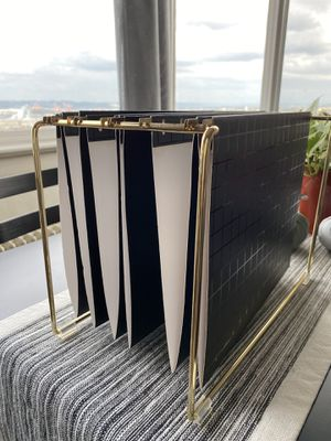 Black & Gold File Holder for Sale in Tacoma, WA