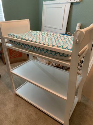 Changing Table and Comfy Chair - READ DESCRIPTION for Sale in Yorktown, VA