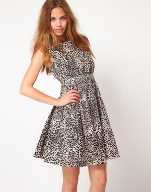 Emily and Fin A-line cotton dress animal print, NWT, size S for Sale in Bellevue, WA