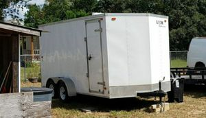 enclosed trailer 6 x 16 title in hand for Sale in Haines City, FL