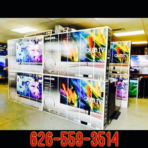 4K TV outlet open to the public Samsung QLED 4K curved SUHD HDR quantum dot Sony LG OLED sharp Vizio 50 inch 55 inch or 60 inch 65 inch 70 inch 75 i for Sale in Santa Ana, CA