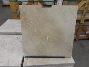 Classic country travertine tiles. The price is less than Floor and decor ( sold by sf ) for Sale in Pompano Beach, FL