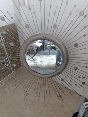 "Large metal mirror 20""Mirror total 48"" for Sale in Alexandria, VA"