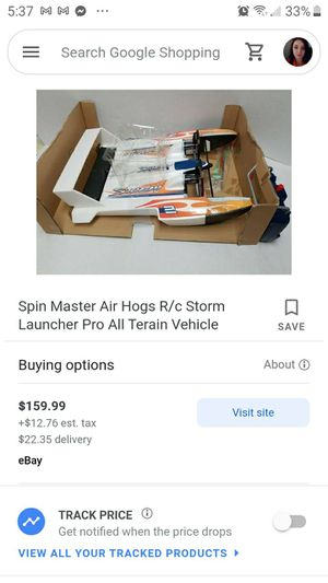 Air hogs storm launcher for Sale in Fresno, CA