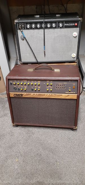 Crate Acoustic 25 Acoustic Guitar Amp and Vocal PA for Sale in Hillsboro, OR