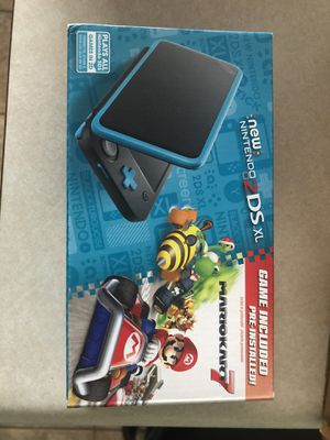 Nintendo 2ds xl handheld with Mario Kart 7 for Sale in Blacklick, OH