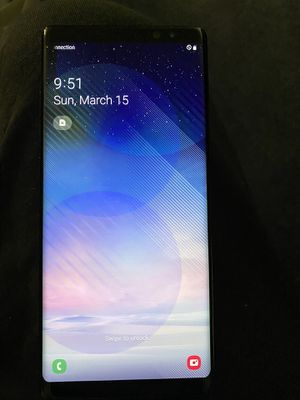 Samsung Galaxy Note 8 Unlocked Like new! for Sale in Canton, MI