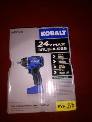 Kobalt 24 v max brushless for Sale for sale  Tulsa, OK