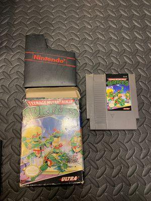 Nintendo NES TMNT Teenage Mutant Ninja Turtle with Box for Sale in Washington, DC
