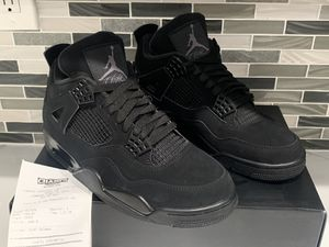 NIKE AIR JORDAN 4 BLACK CAT RETRO OG SIZE 8 BRAND NEW NEVER WORN for Sale in Cooper City, FL