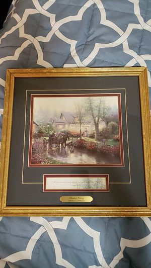 Thomas kinkade Sunday Outing with certificate for Sale in Riverside, CA