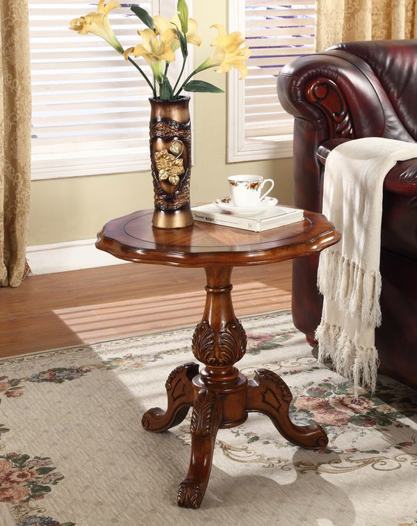 Round Wood Bar Table, Collection Goods,Retro Style Designed,Produced before 10Years ago