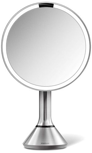 "simplehuman Sensor Lighted Makeup Vanity Mirror, 8"" Round with Touch-Control Brightness for Sale in Tempe, AZ"