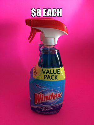 Windex Glass Cleaner original, windows, car, mirror clean cleanser double pack for Sale in Torrance, CA